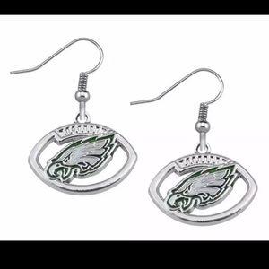 Jewelry - Brand New Philadelphia Eagles Custom Earrings